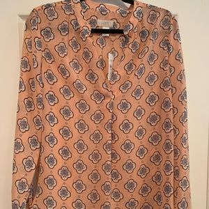 Loft outlet tunic blouse